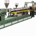 SJ single screw three-roll sheet, plate production line